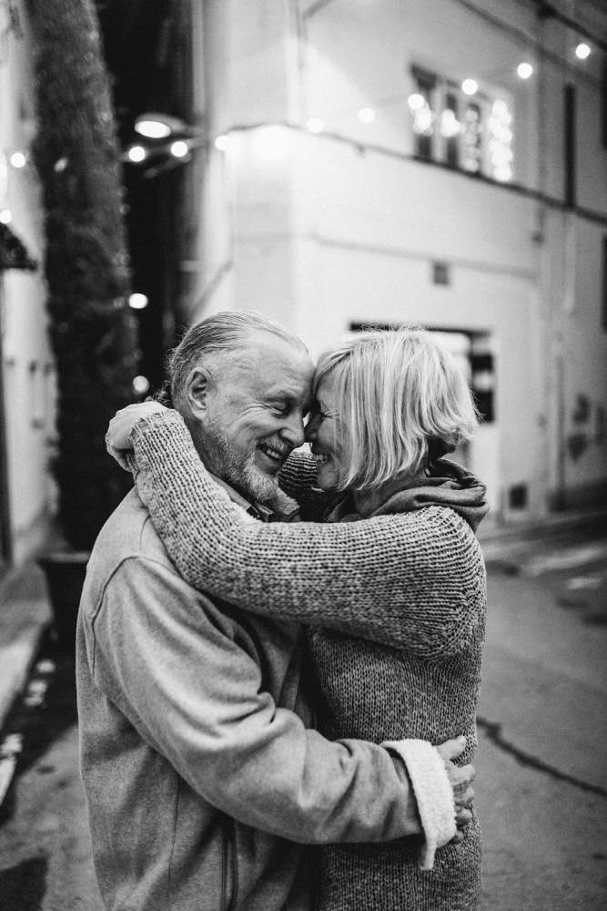 Historia de amor pareja Mayor