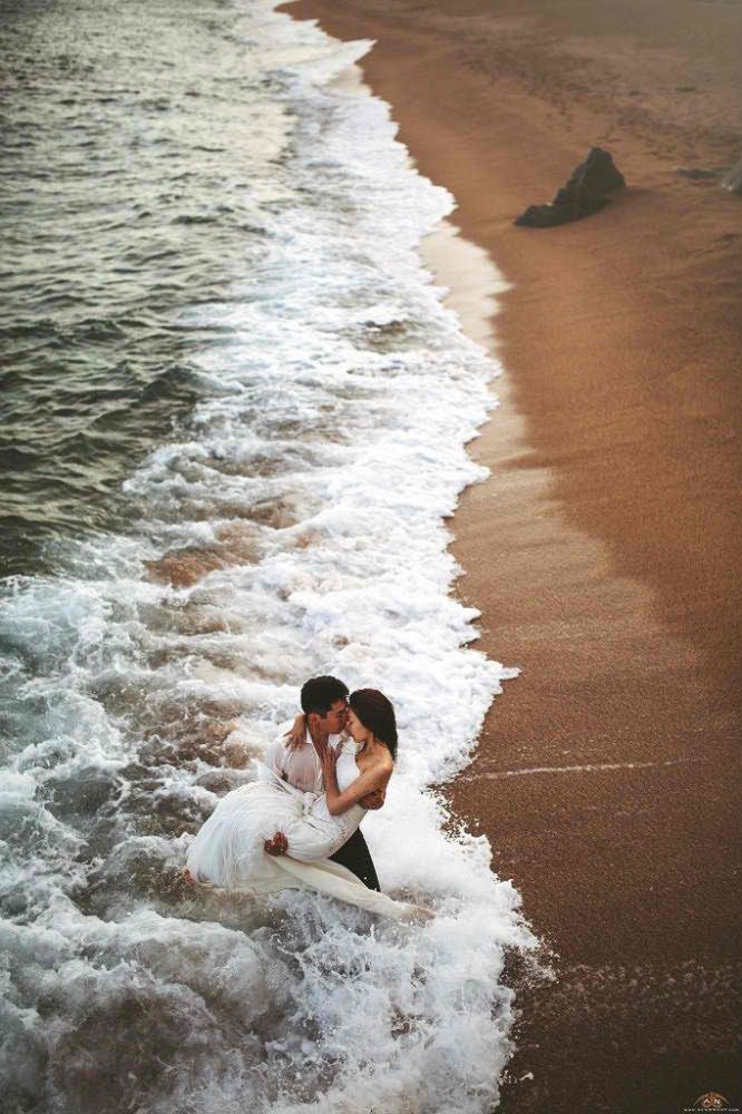 sesion de fotos profesional para boda en barcelona