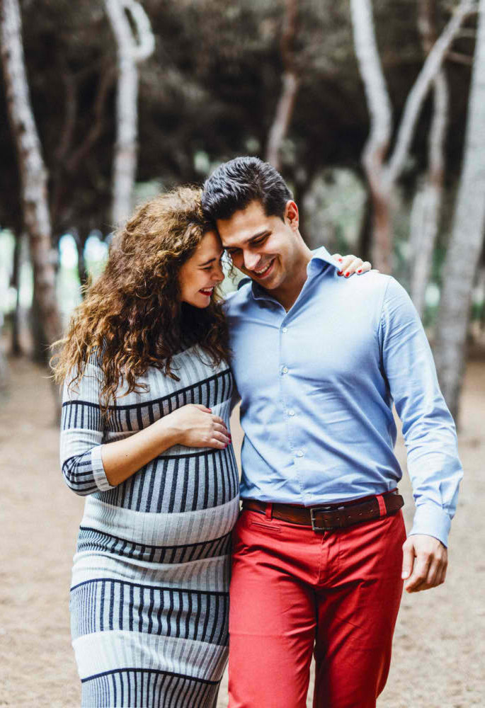Foto sesión embarazo Barcelona barato