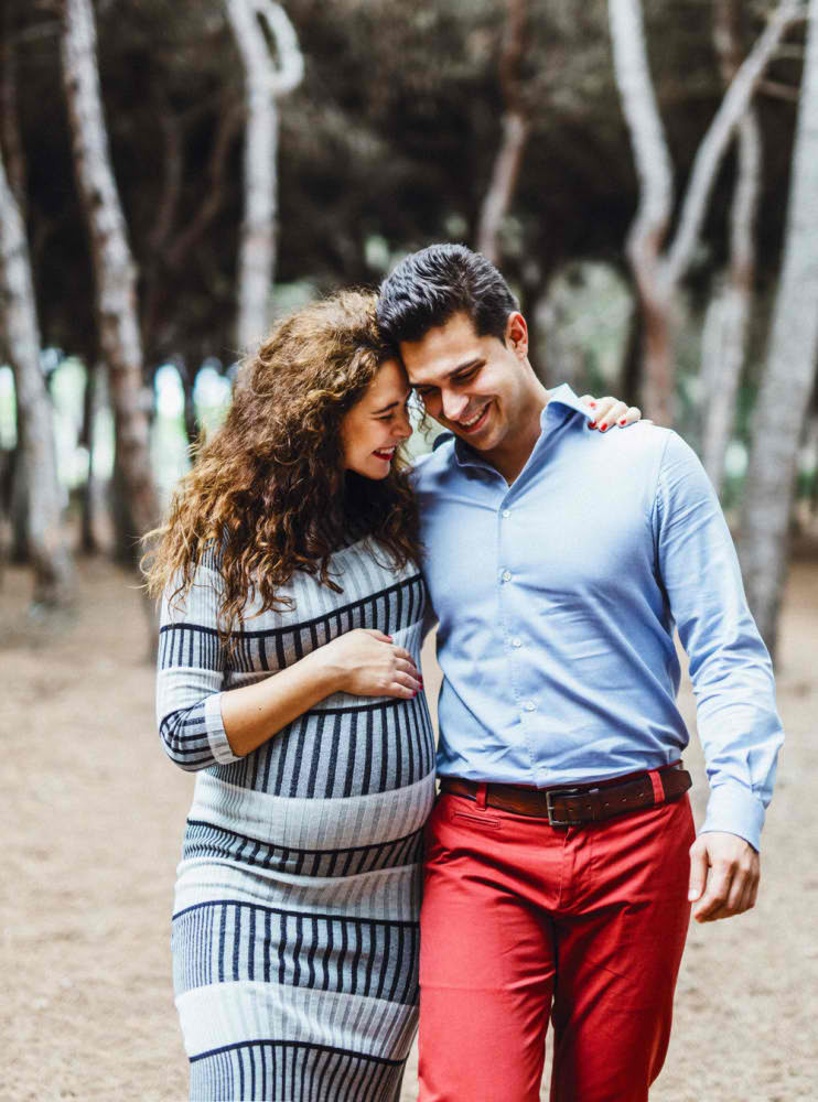 Fotografía de embarazo Barcelona