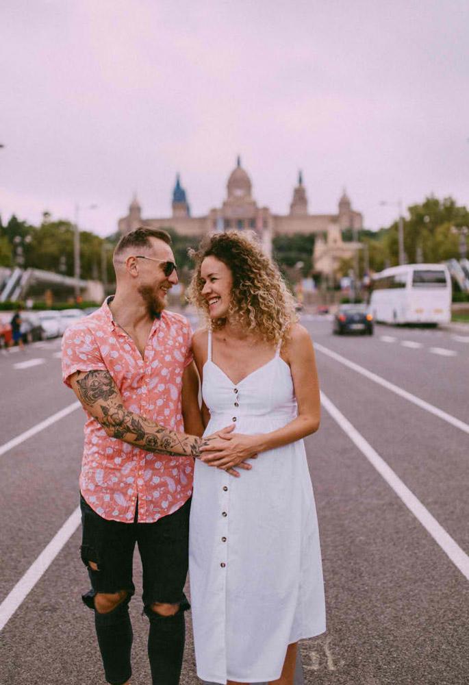 ▷ Фотография беременных в Барселоне