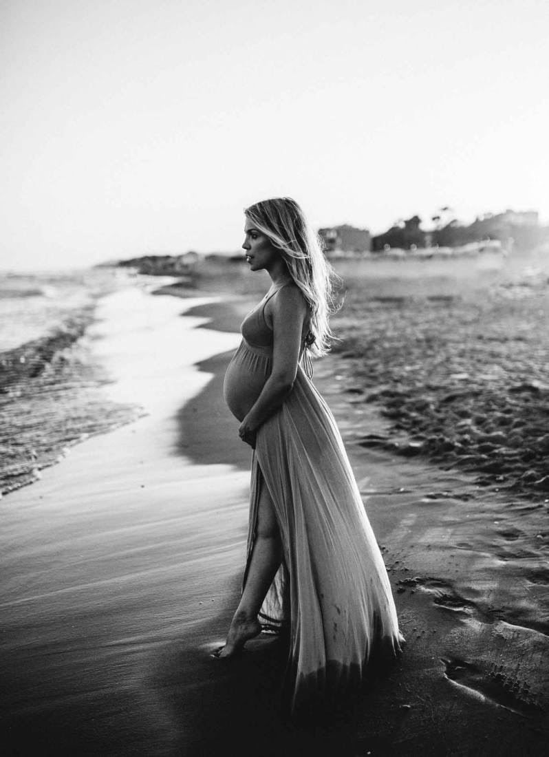 sesion fotografica embarazo barcelona