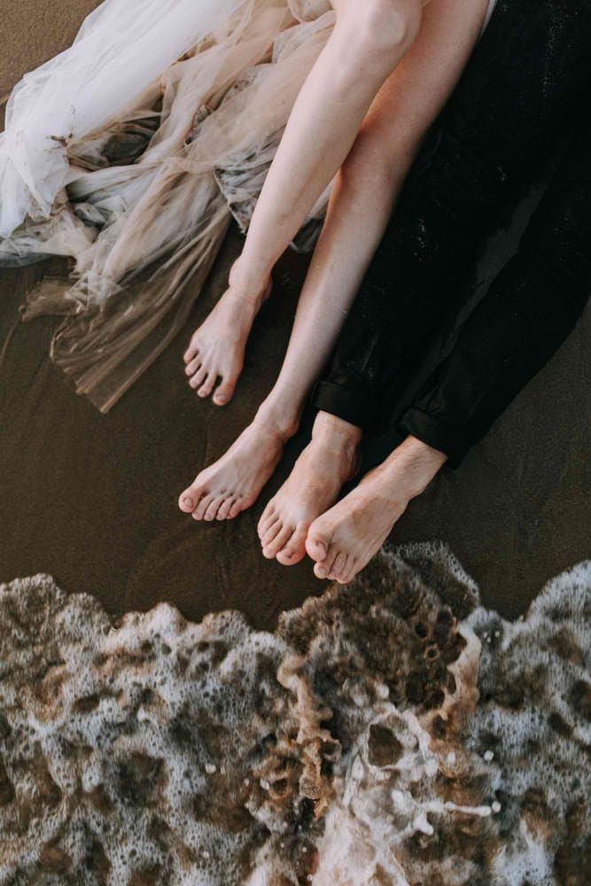 Оригинальная Фотосессия на пляже Барселона