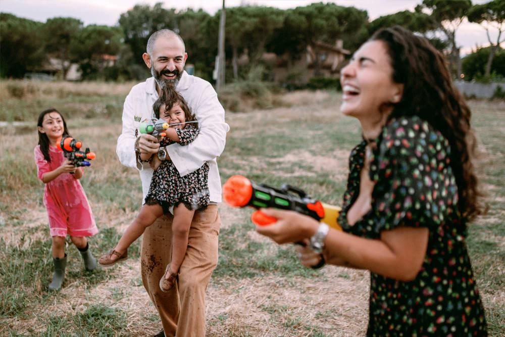 Fotos de familia en la PLAYA de Barcelona