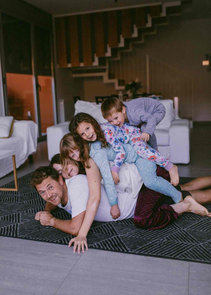 fotografia profesional familiar en casa