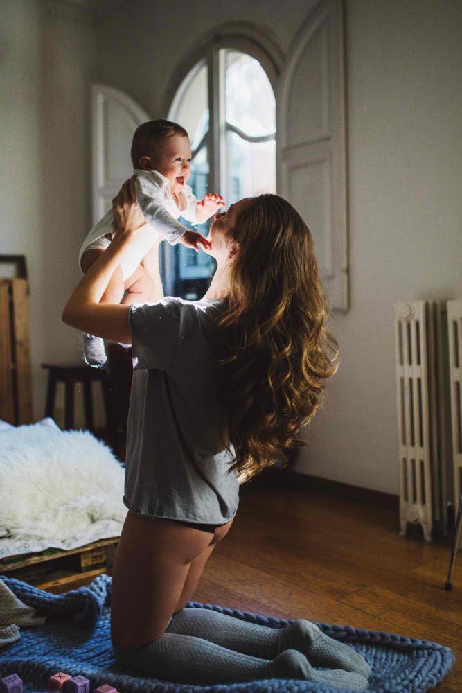 madre con hijo barcelona