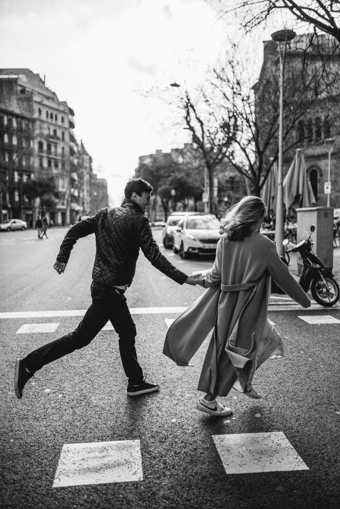 sesion de fotos profesional novios en Barcelona