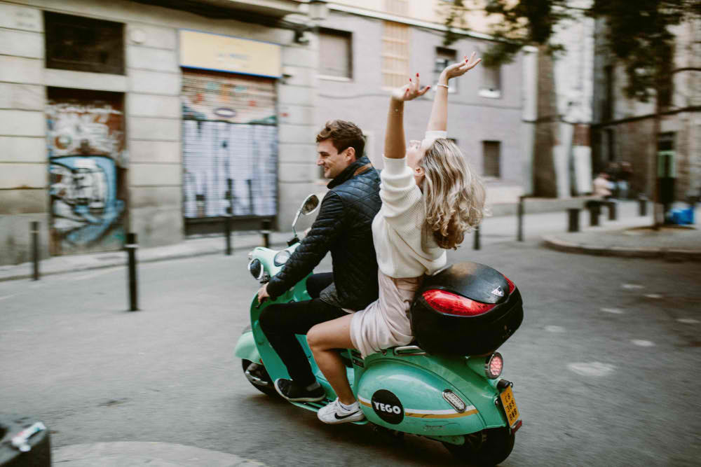 Photoshoot in Barcelona for Couples