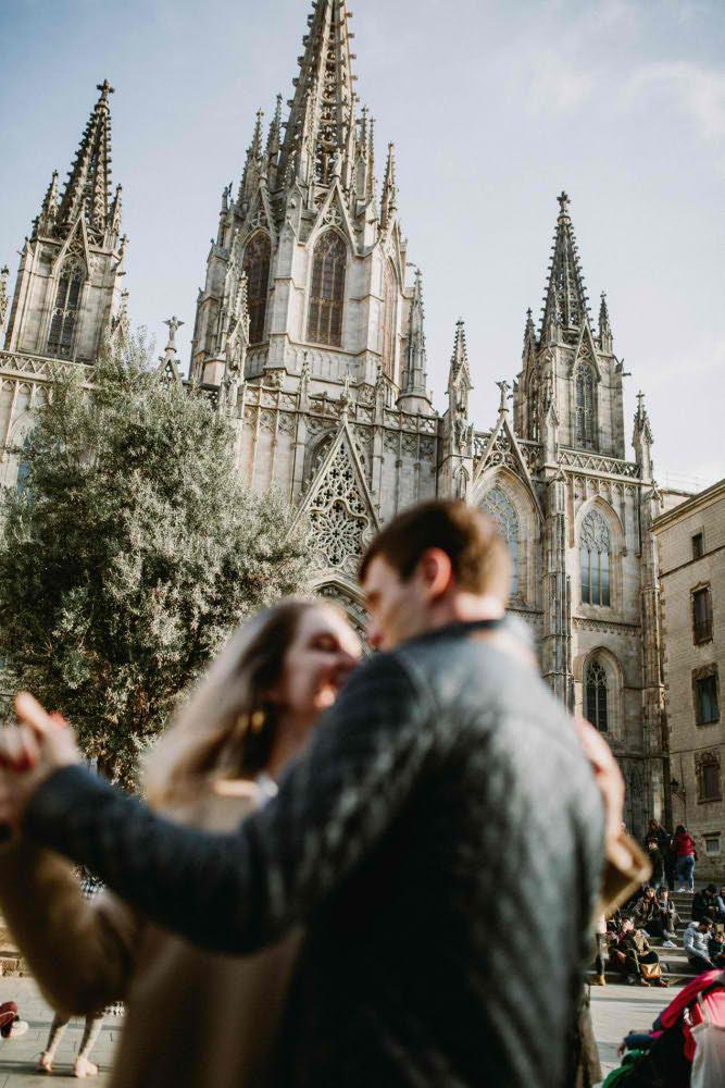 Фотосессия в Центре Барселоны