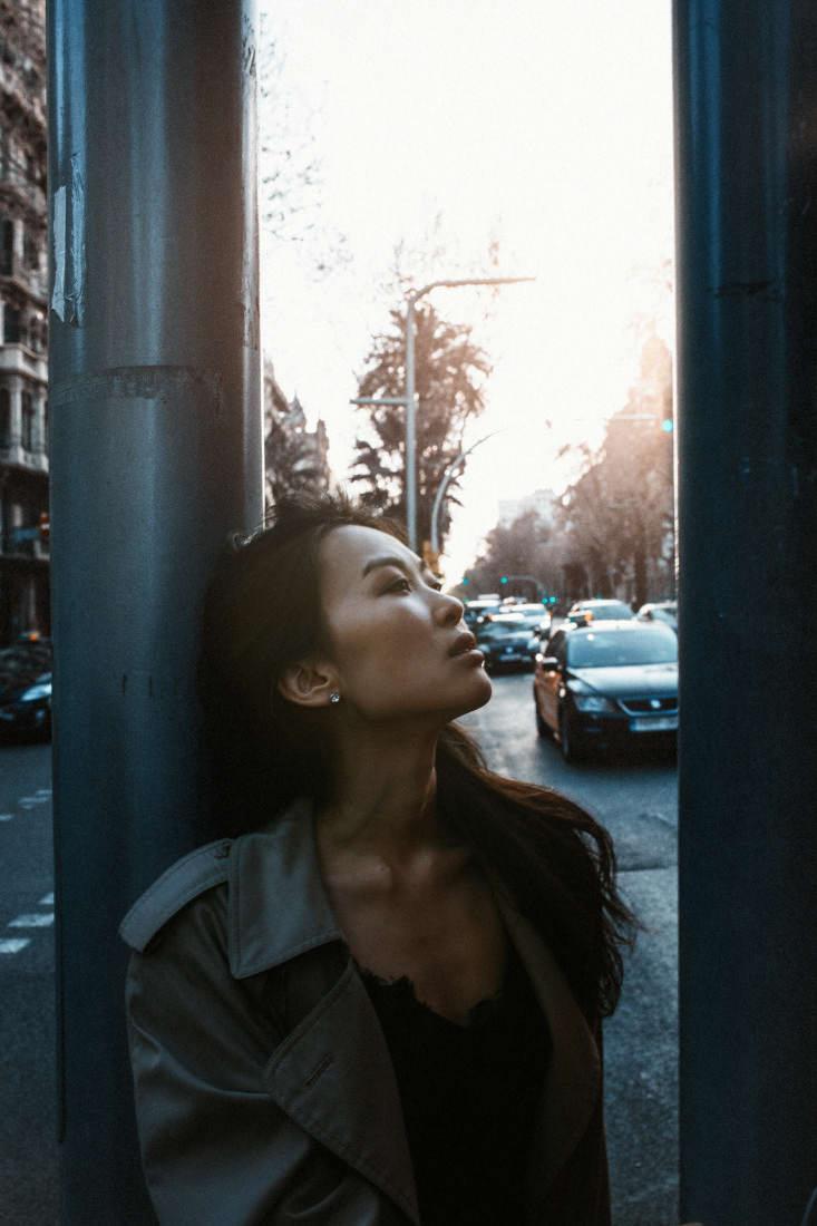 Модный Фото Портрет Барселона