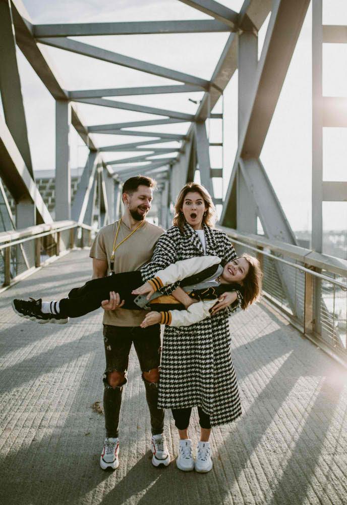 Семейная Фотосессия на Мосту