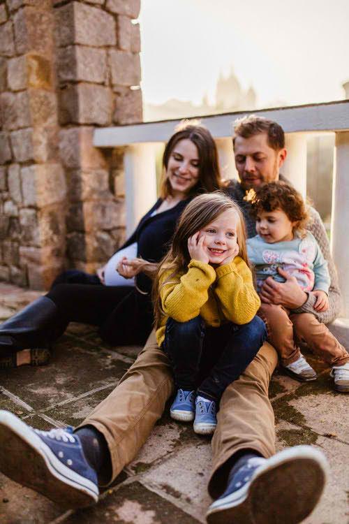 Семейное Фото на Балконе