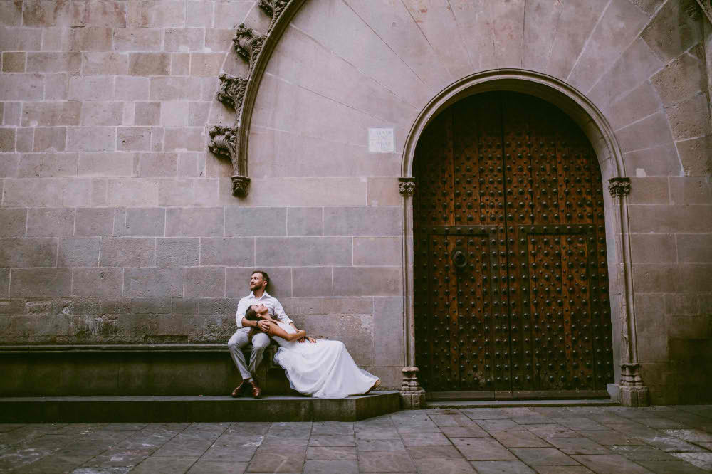 Professional Wedding Photo Session in Barcelona